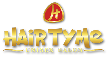 Hair Tyme Salon Logo